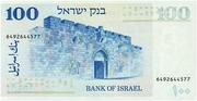 100 Lirot (Theodor Herzl) – reverse