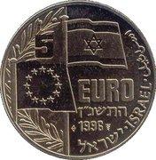 5 Euro (Golda Meir) -  obverse