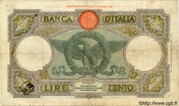 100 Lire – reverse