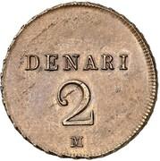 2 Denari - Napoleon Bonaparte – reverse