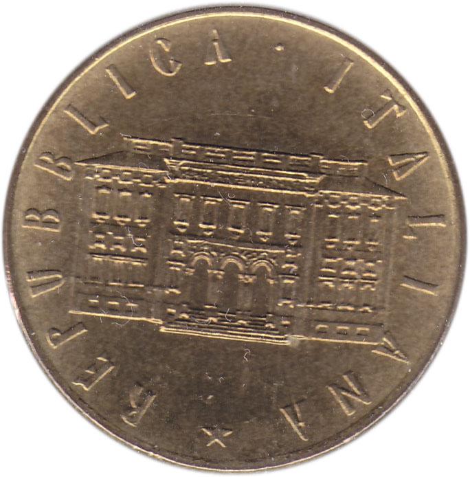 repubblica italiana coin l200