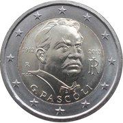 2 Euro (Giovanni Pascoli) -  obverse