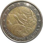 2 Euro (European Constitution) -  obverse