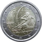 2 Euro (Torino Olympics) -  obverse