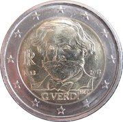 2 Euro (Giuseppe Verdi) -  obverse