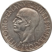20 Lire - Vittorio Emanuele III -  obverse