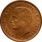 2 Centesimi - Vittorio Emanuele III – obverse
