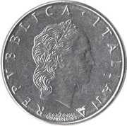 50 Lire (large type) -  obverse