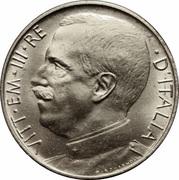 50 Centesimi - Vittorio Emanuele III – obverse