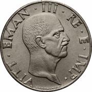 50 Centesimi - Vittorio Emanuele III (magnetic) -  obverse