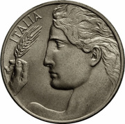20 Centesimi - Vittorio Emanuele III -  obverse