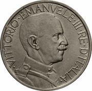 2 Lire - Vittorio Emanuele III (Buono) -  obverse