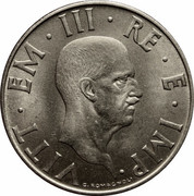 2 Lire - Vittorio Emanuele III (magnetic) -  obverse