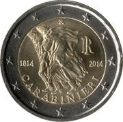 2 Euro (Carabinieri) -  obverse