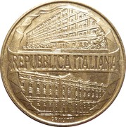 "200 Lire (100th Anniversary of  Accademy of  ""Guardia di Finanza"") -  obverse"