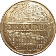 """200 Lire (100th Anniversary of  Academy of  """"Guardia di Finanza"""") -  obverse"""