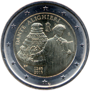 2 Euro (Dante Alighieri) -  obverse