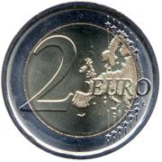 2 Euro (Dante Alighieri) -  reverse