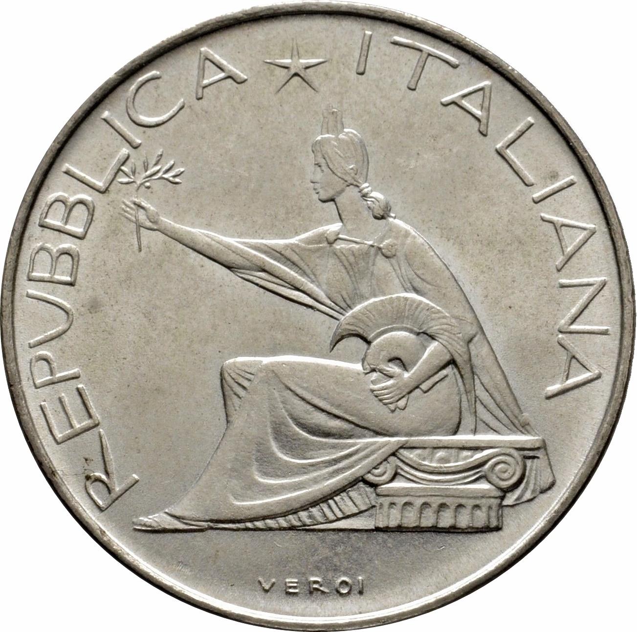 500 Lire Unification Centennial Italy Numista