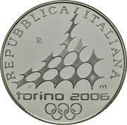 10 Euro (2006 Winter Olympics - Speed skating) -  obverse