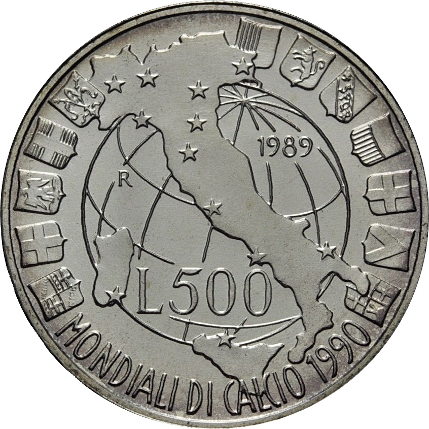 500 lire 1989 coin value
