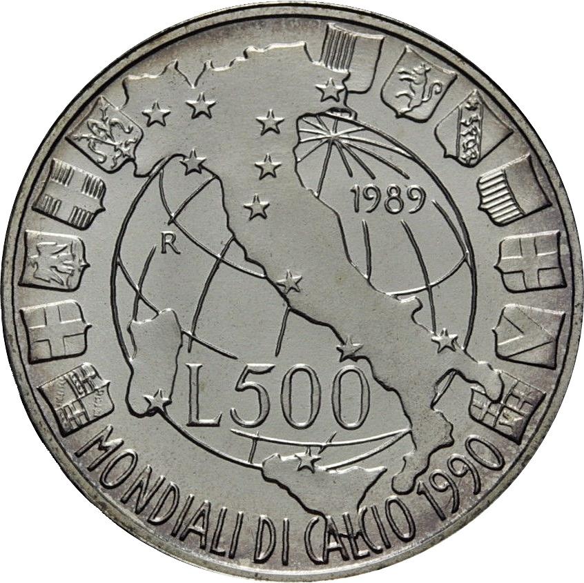 500 Lire 1990 World Cup