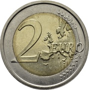 2 Euro (Louis Braille) -  reverse