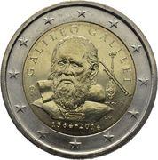 2 Euro (Galileo Galilei) -  obverse