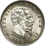 20 Centesimi - Vittorio Emanuele II – obverse