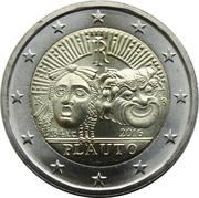 2 Euro (Plautus) -  obverse