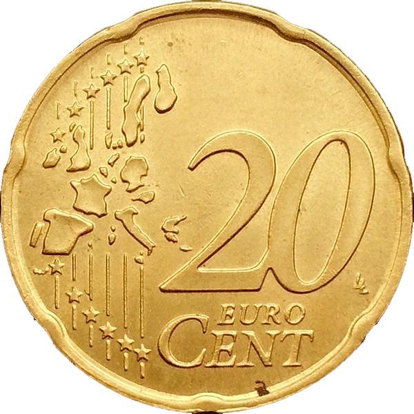 20 Euro Cent 1st Map Italy Numista