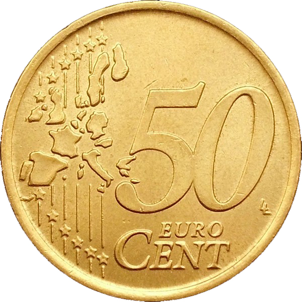 50 Euro Cent 1st Map