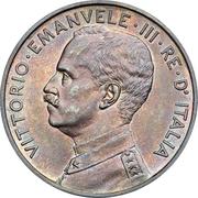10 Centesimi - Vittorio Emanuele III (prova) – obverse