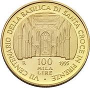 "Italy gem UNC// FDS ass x 1 100000 Lire CARAVAGGIO ""B/"" 27-02-1995 RRR !!!"