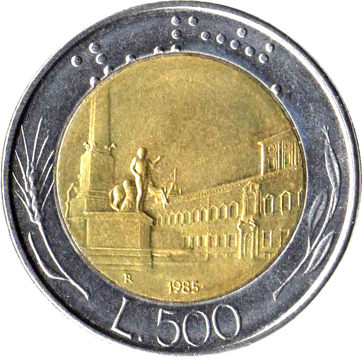 Coin Sets of All Nations Italy 1982-1984 UNC 100 Lire 1983