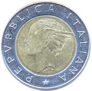 500 Lire (Bank of Italy Centennial) -  obverse