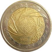 2 Euro (World Food Program) -  obverse