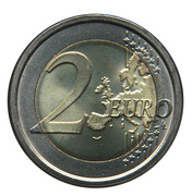 2 Euro (Unification of Italy) -  reverse