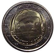 2 Euro (Giovanni Boccaccio) -  obverse