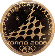 50 Euro (2006 Winter Olympic Games in Turin) -  obverse