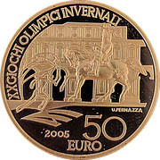 50 Euro (2006 Winter Olympic Games in Turin) -  reverse