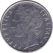 100 Lire (small type) -  obverse