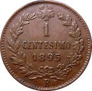 1 Centesimo - Umberto I – reverse