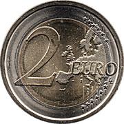 2 Euro (Italian Republic Constitution) -  reverse
