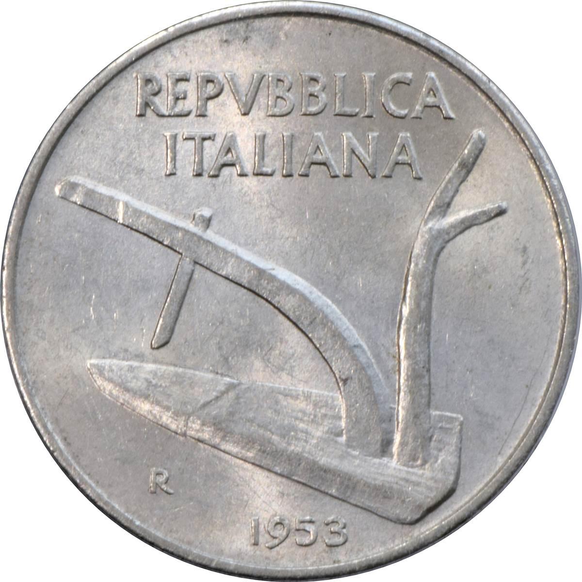 10 Lire - Italy – Numista