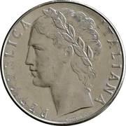 100 Lire (large type) -  obverse