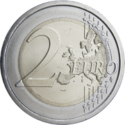 2 Euro (Ministry of Health) -  reverse