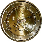 2 Euro (National Firefighters Corps) -  obverse