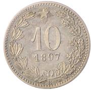 10 centesimi – reverse