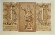 1 Lira - King Victor Emanuel III – reverse